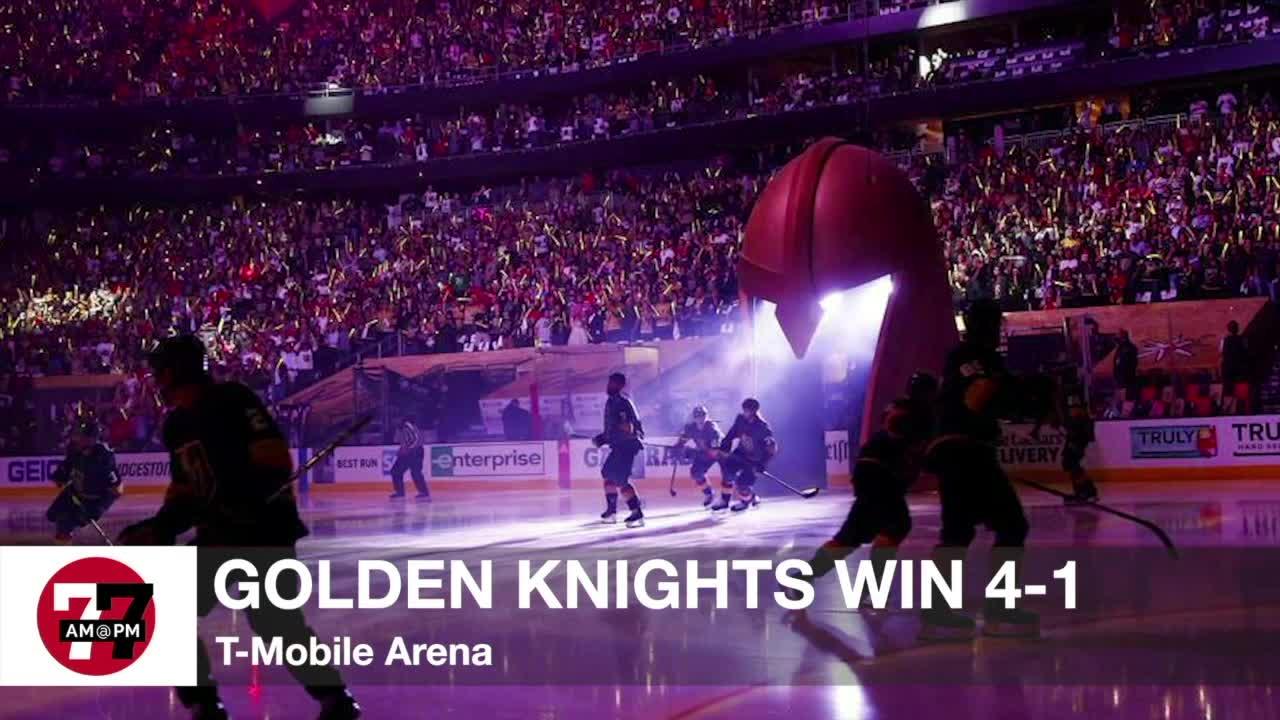 7@7AM Golden Knights Win 4-1