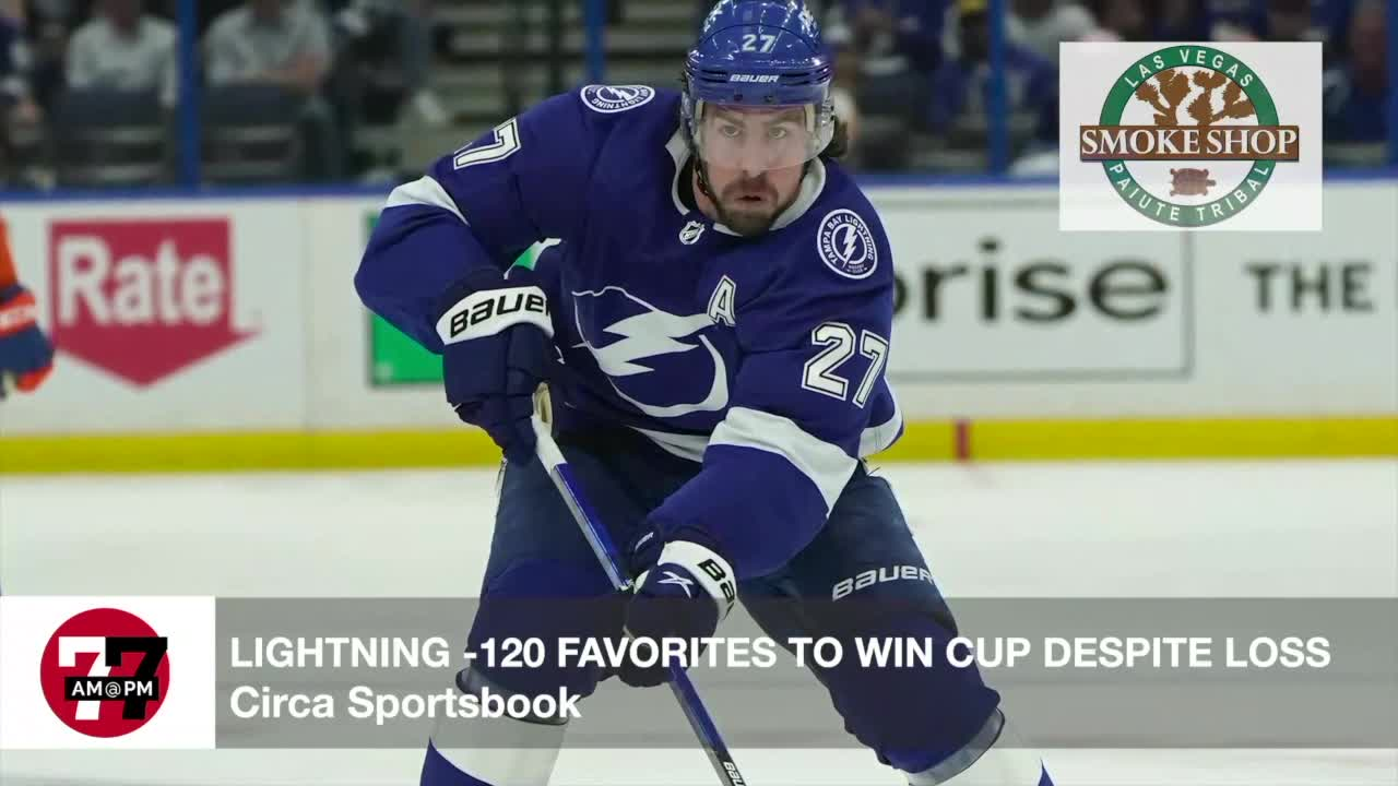 7@7AM Lightning -120 Favorites To Win Cup