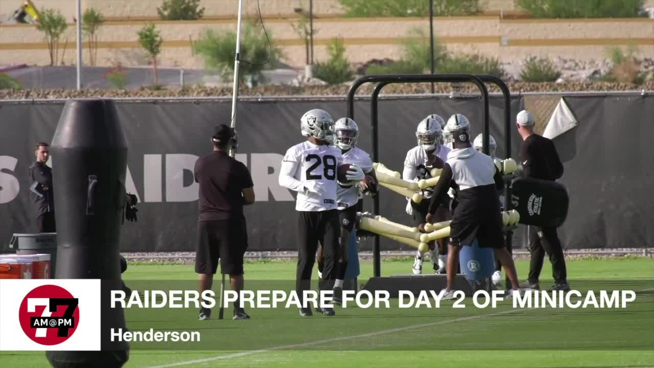 7@7AM Raiders Prep for Day 2 of Minicamp