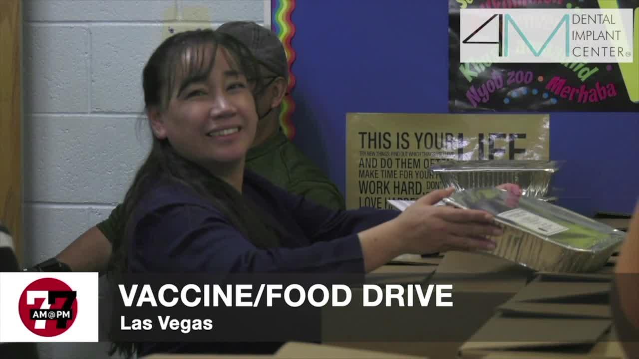 7@7AM Vaccine/Food Drive