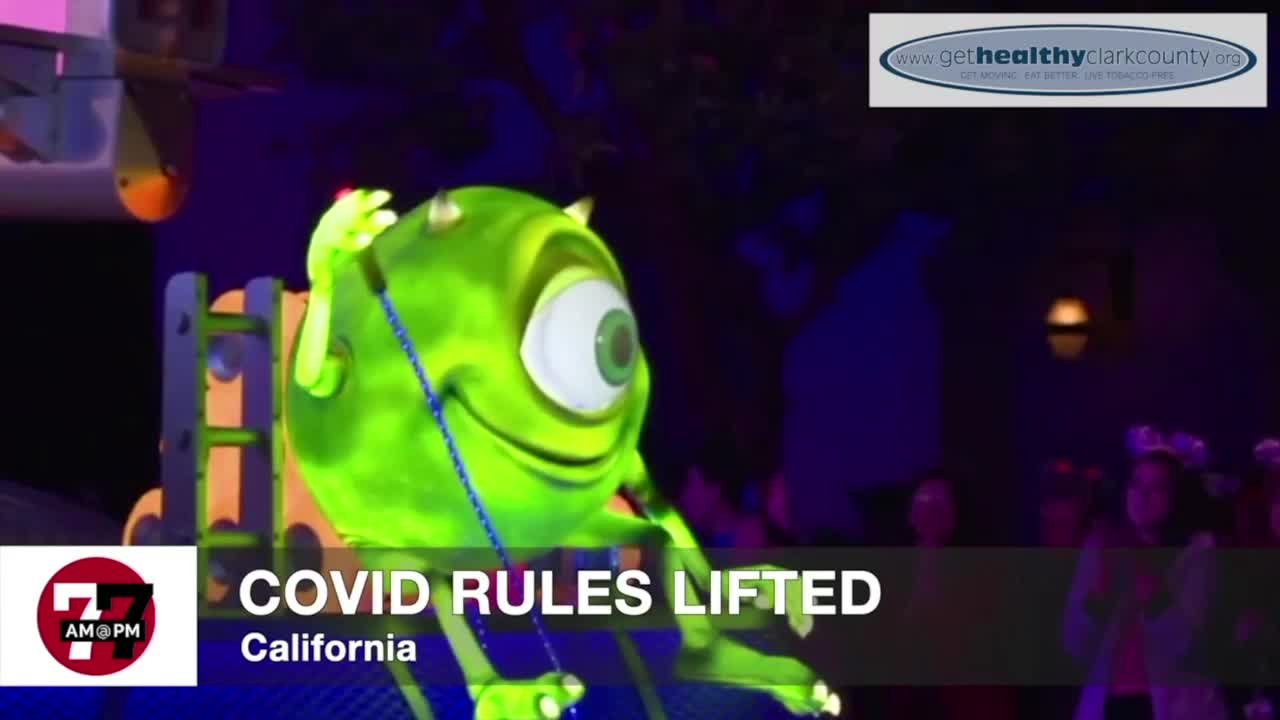 7@7AM COVID Rules Lifted In California