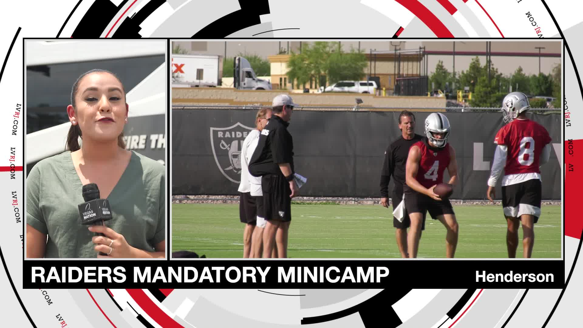 Raiders Mandatory Minicamp
