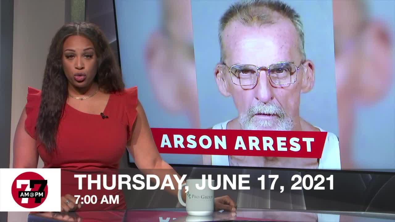 Walmart Arson Arrest