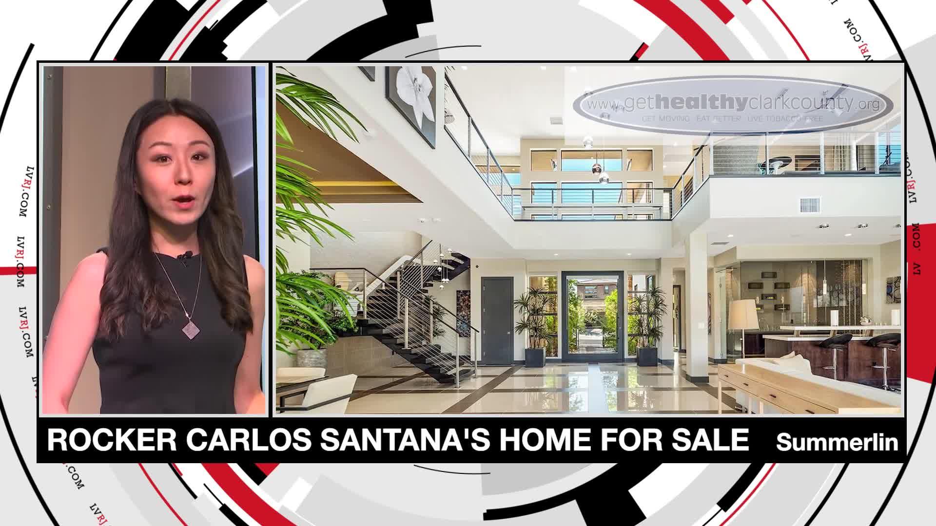 7@7PM Carlos Santana's Home On Sale