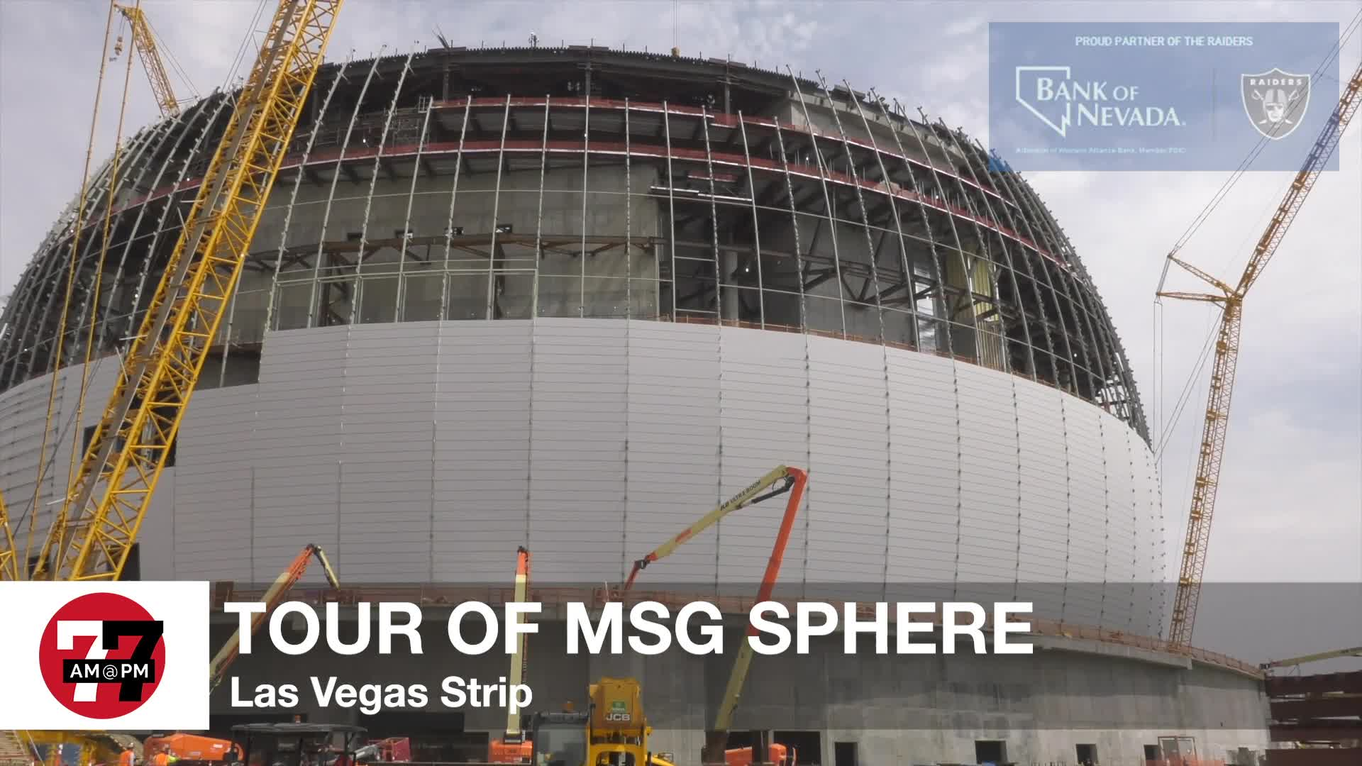 7@7PM Tour Of Msg Sphere
