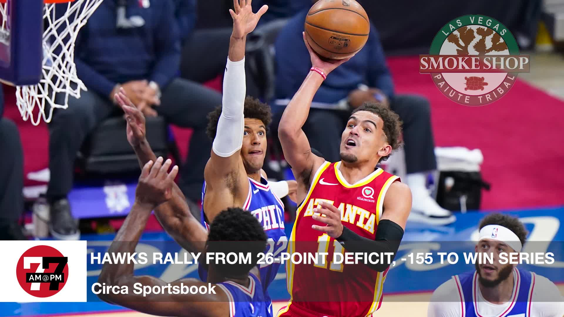 7@7PM Hawks -155 Over 76ers