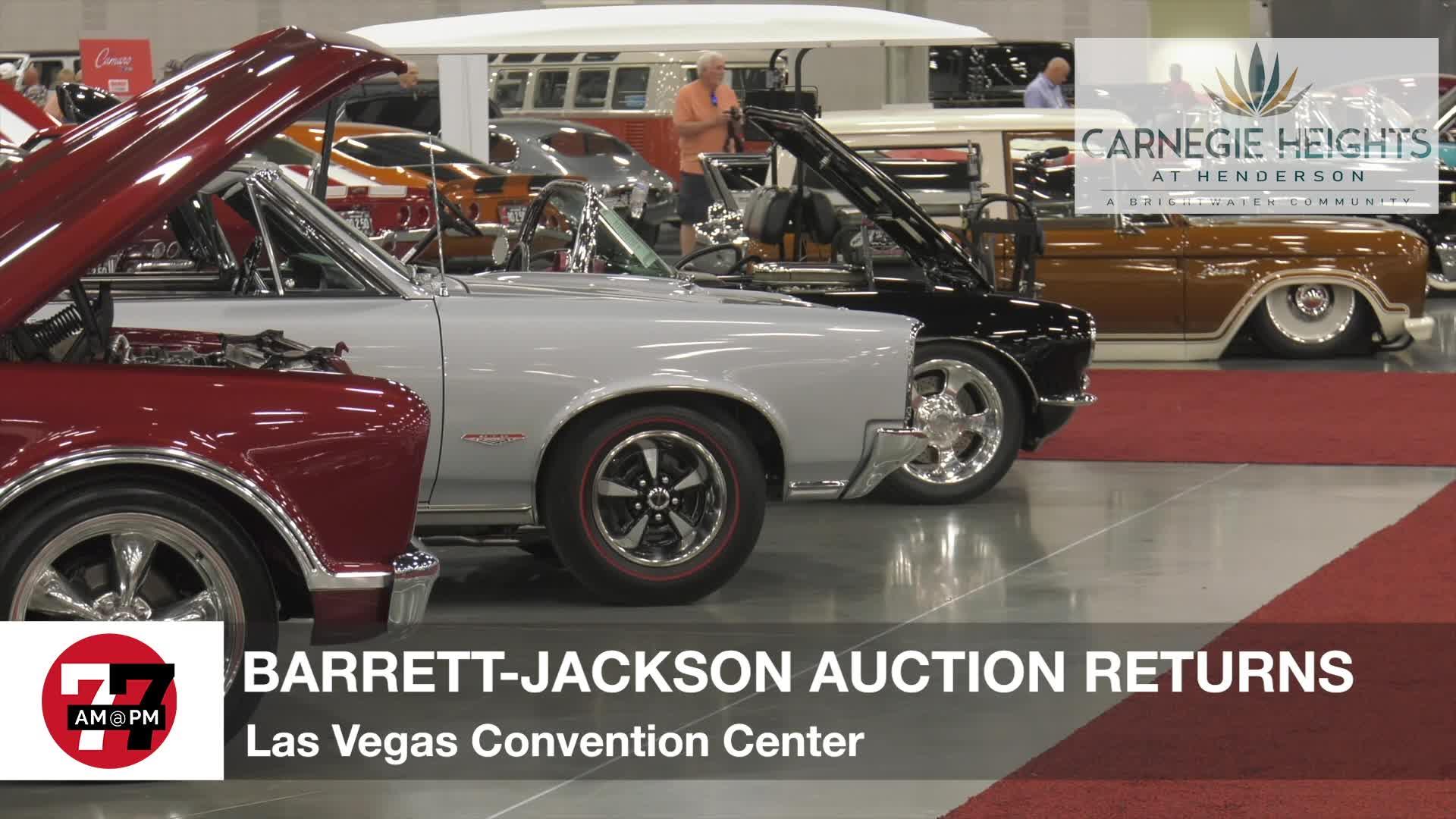 7@7PM Barrett-Jackson Auction Returns