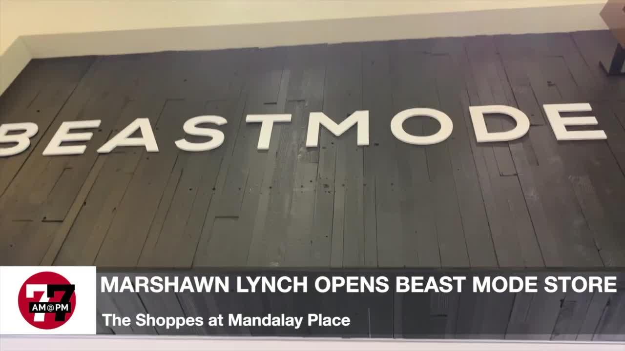 7@7AM Marshawn Lynch Opens Beast Mode Store