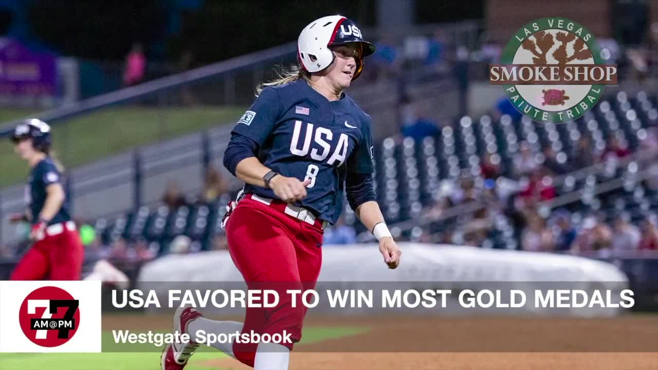 7@7AM USA Favored to Win Most Gold Medals
