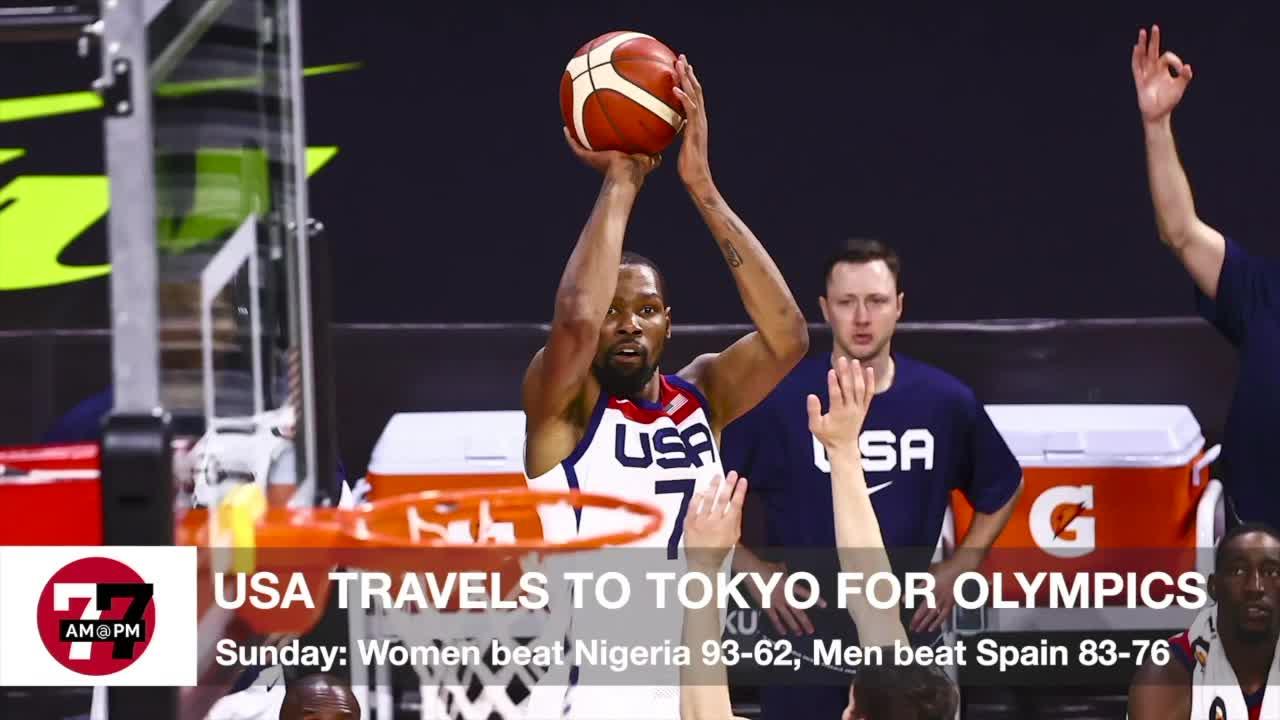 7@7AM USA Basketball Teams Travel to Tokyo