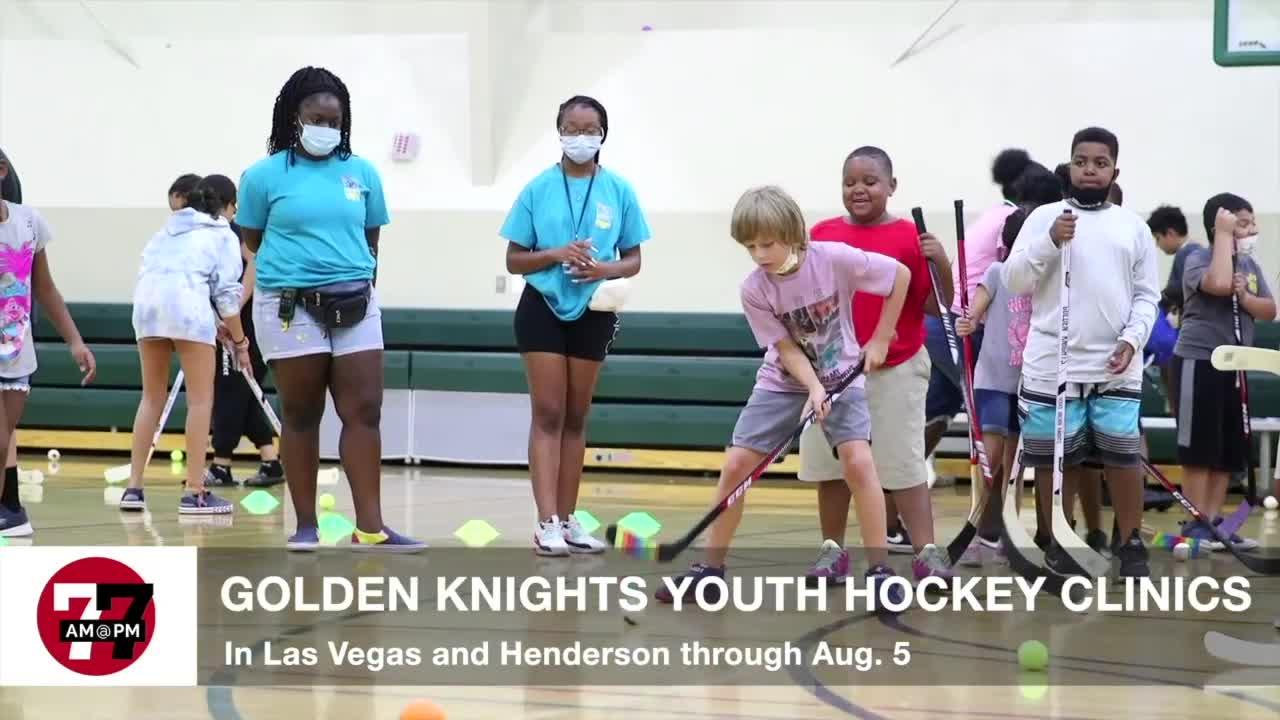 7@7AM Golden Knights Youth Hockey Clinics