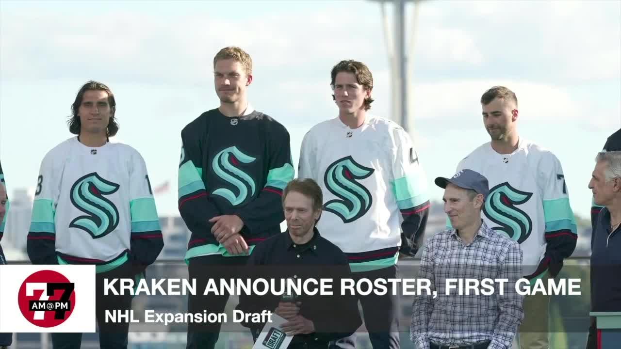 7@7AM Kraken Announce Roster