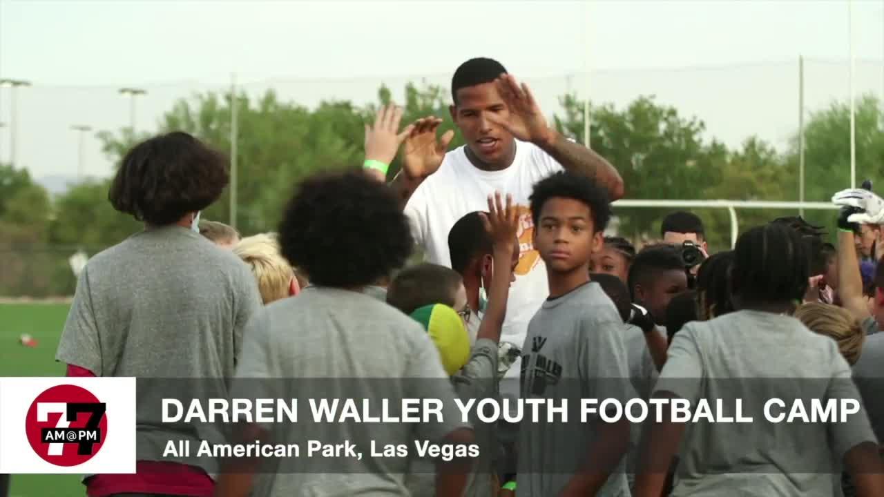 7@7AM Darren Waller Youth Football Camp
