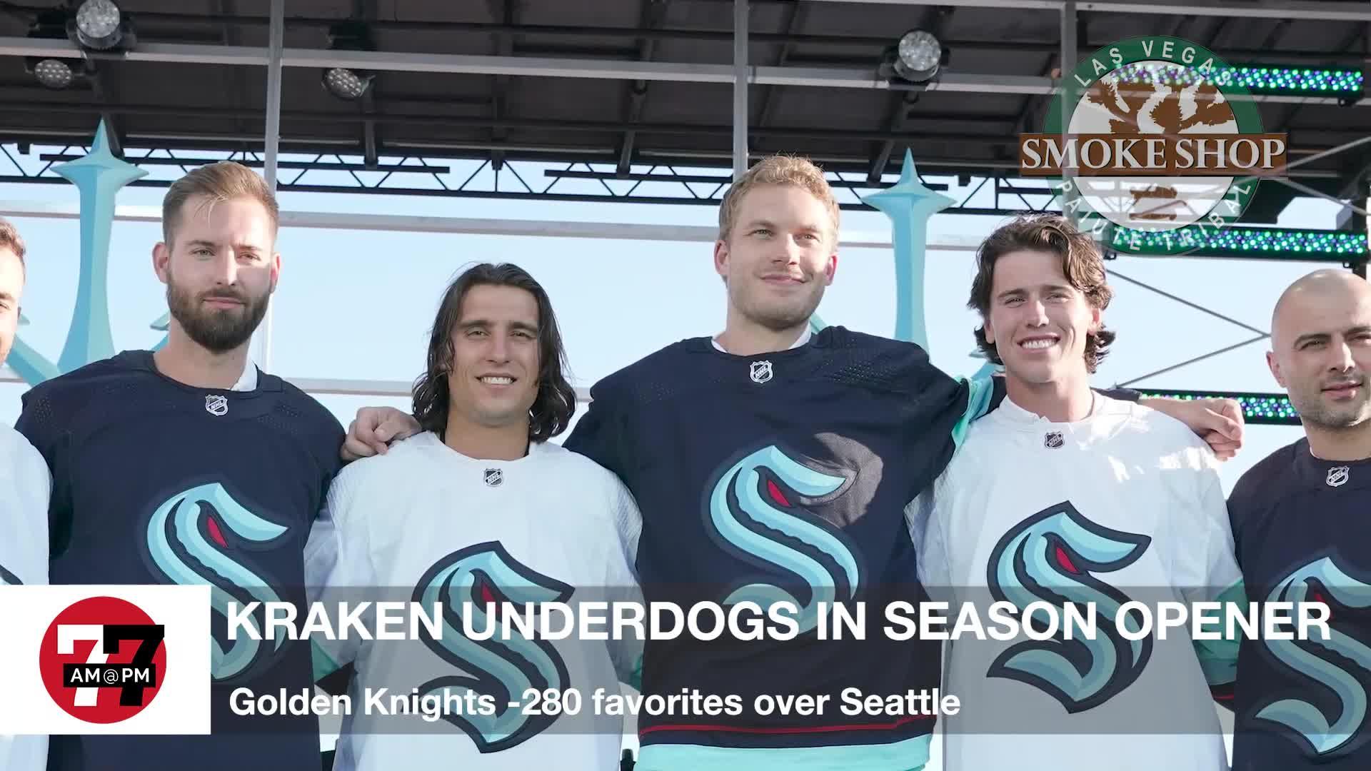 7@7PM Kraken Underdogs in Season Opener