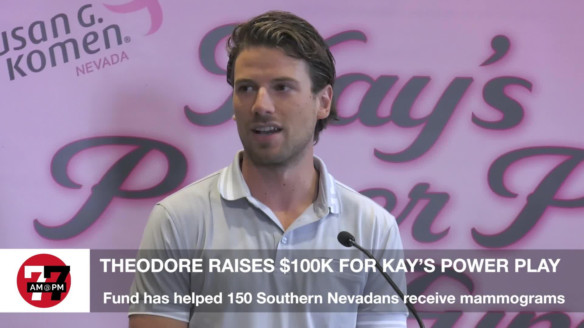 7@7PM Shea Theodore Raises $100K for Kay's Power Play