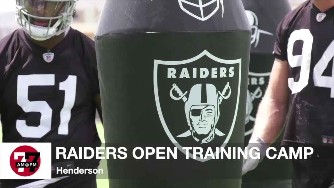 7@7AM Raiders Open Training Camp
