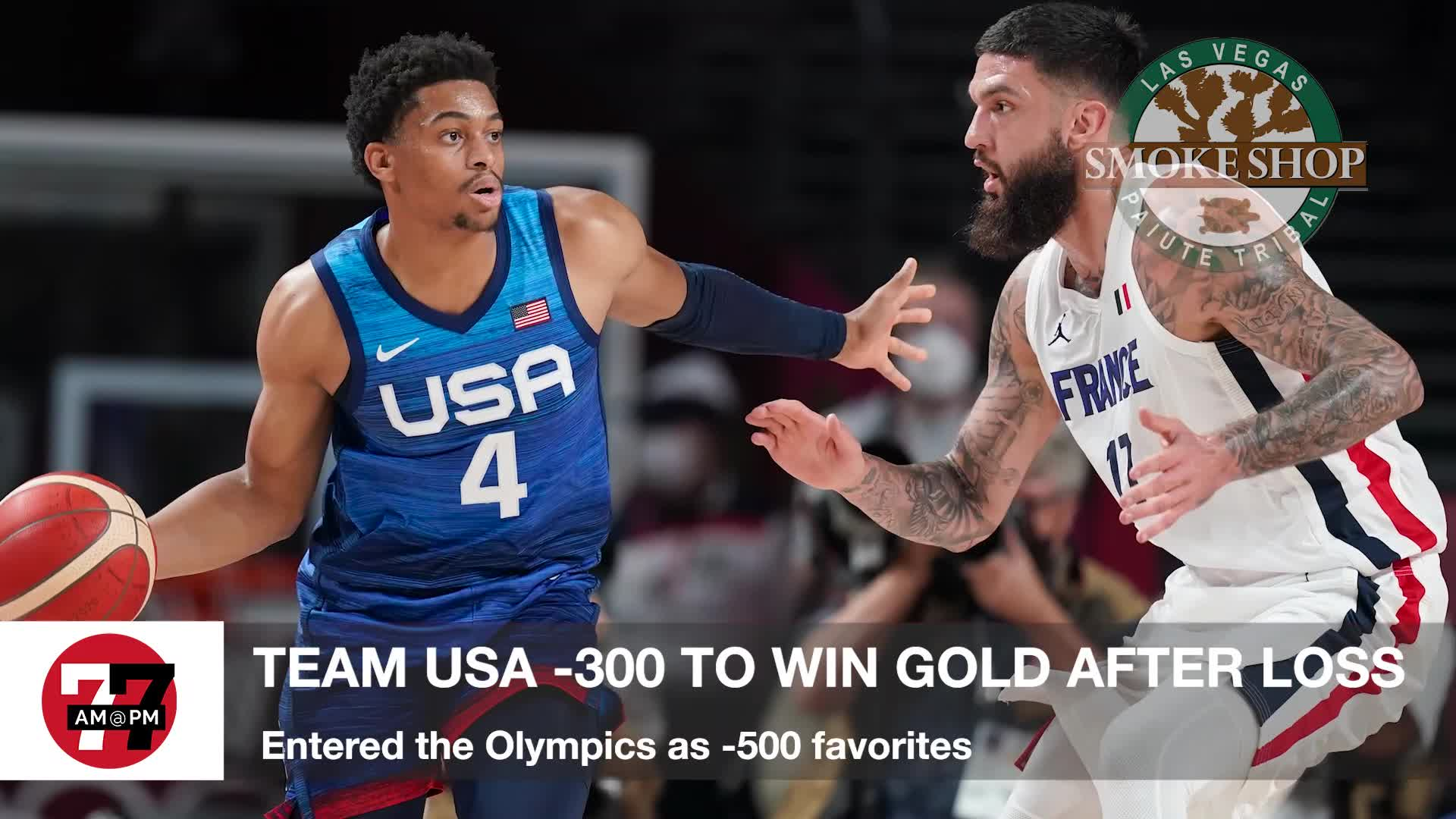 7@7PM Team USA -300 to Win Gold After Loss