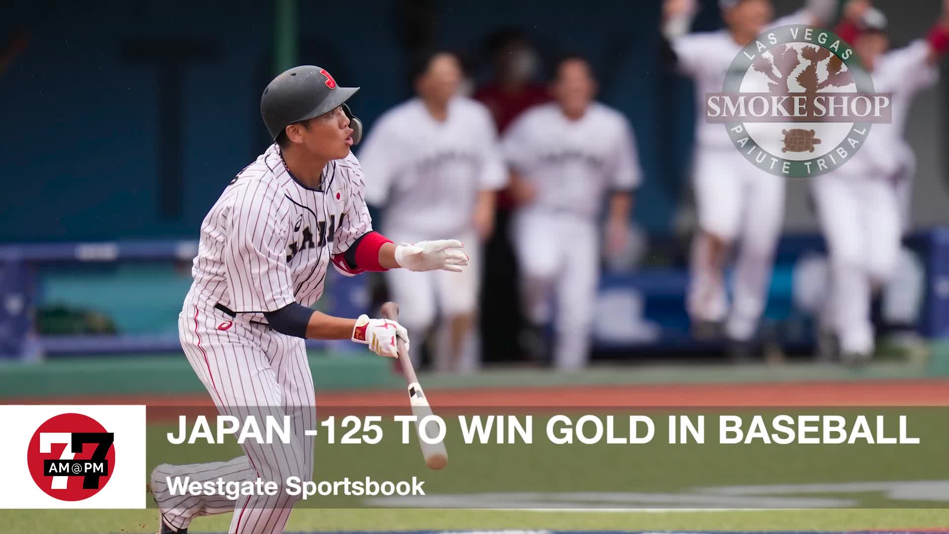 7@7PM Japan -125 to Win Gold in Baseball
