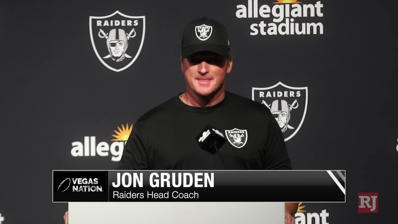Raiders host fans for the first time at Allegiant Stadium