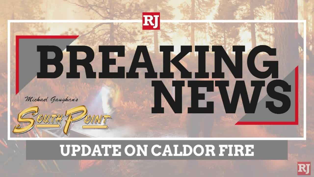 Update on Caldor Fire