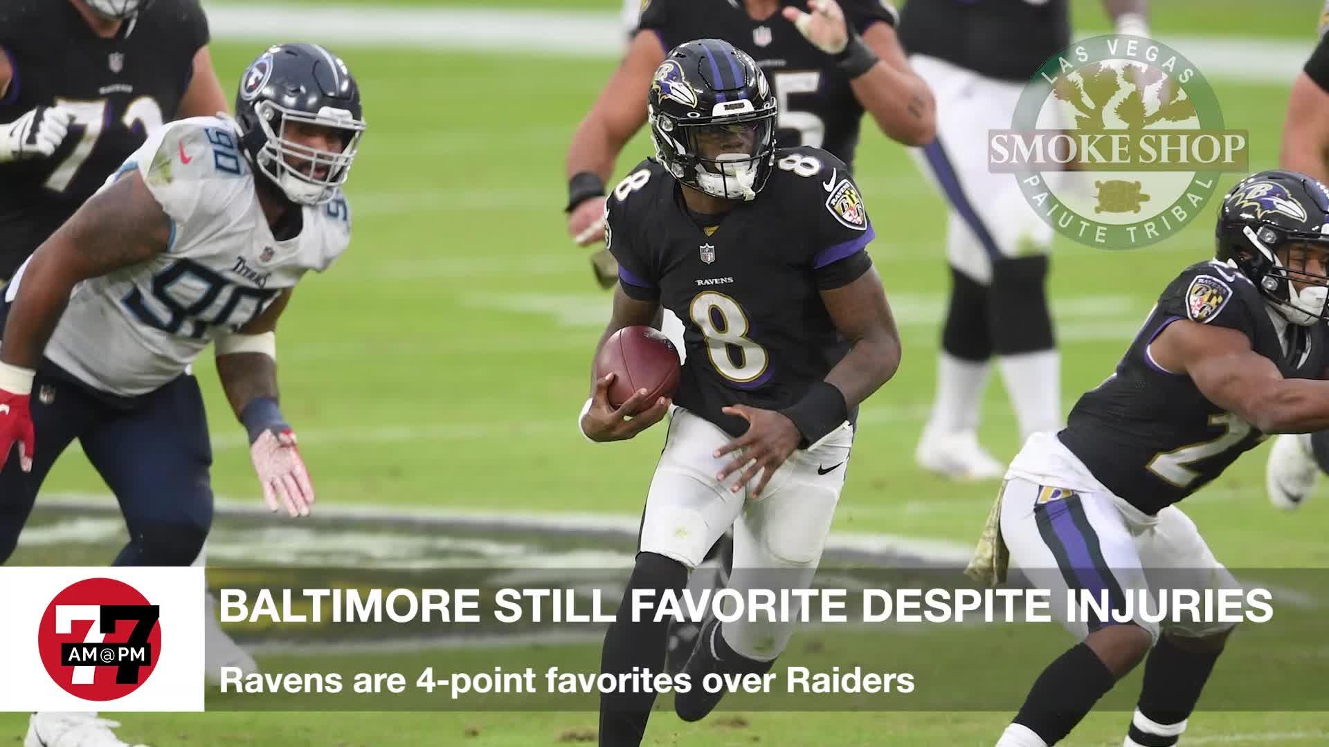 7@7PM Ravens Still Favorites Despite Injuries