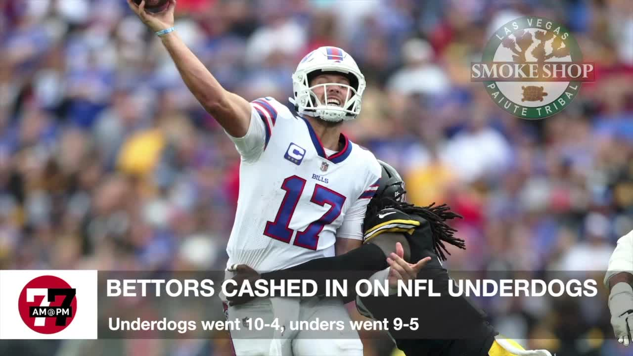 7@7AM Bettors Cash In On NFL Underdogs