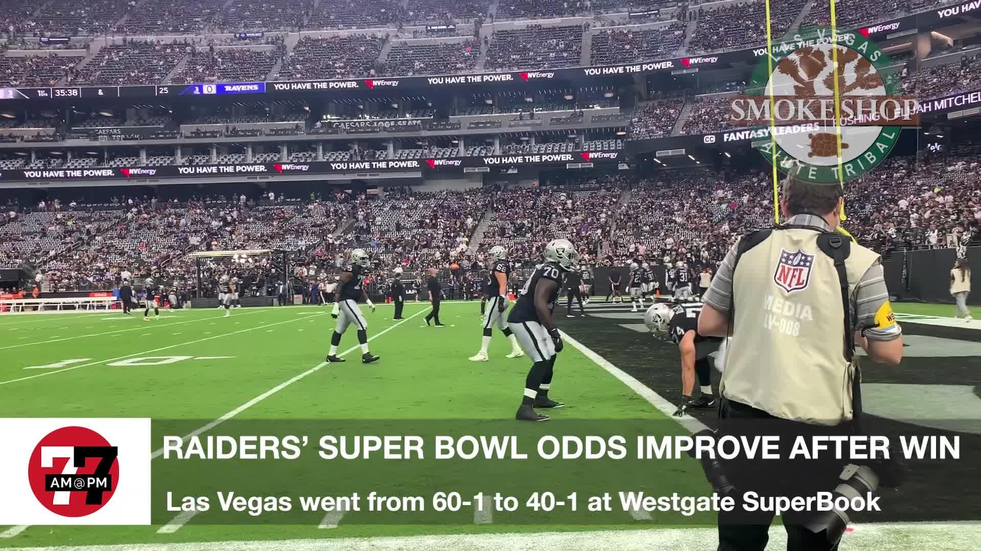 7@7PM Raiders Super Bowl Odds Raise