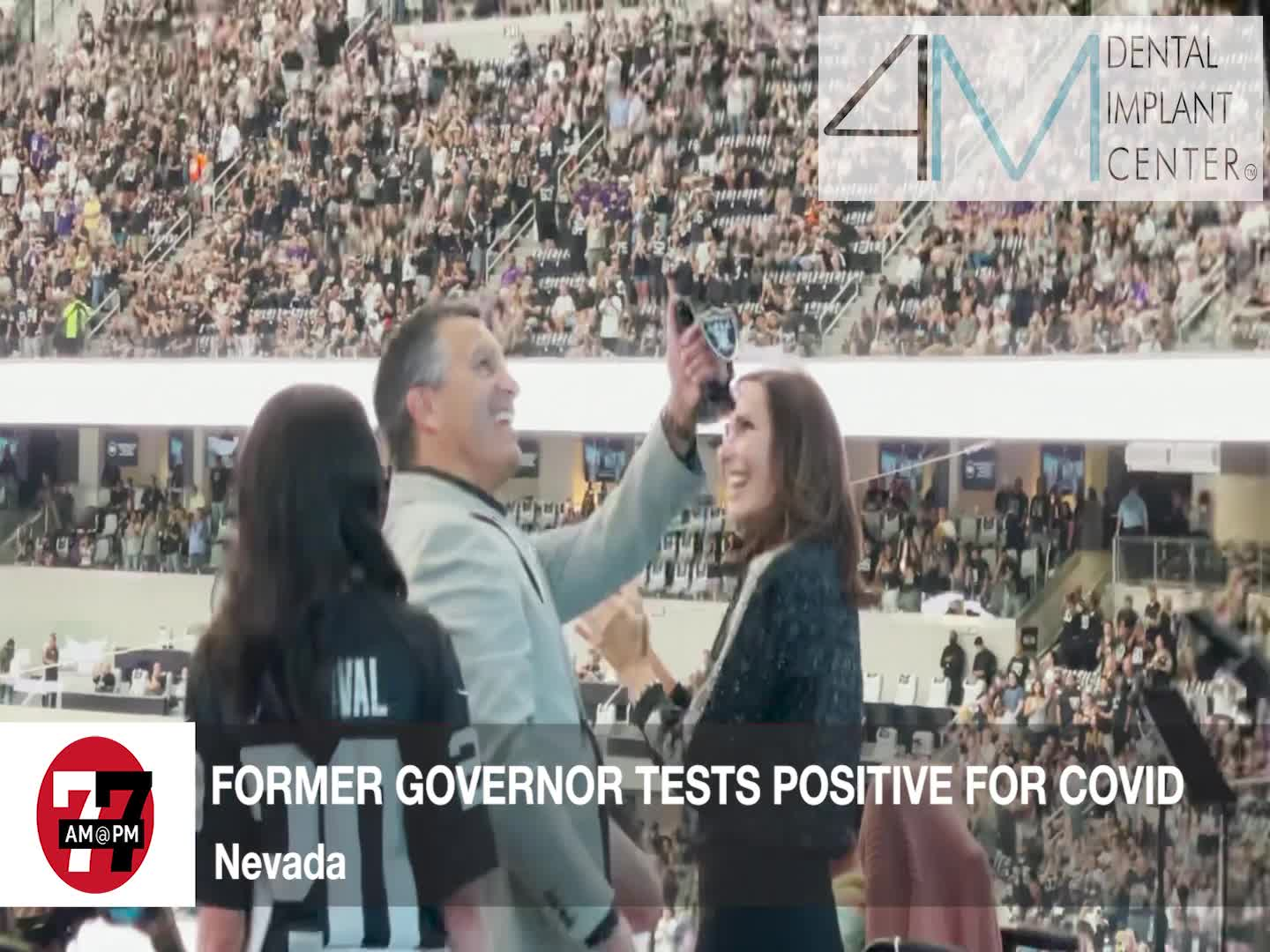 7@7PM Former Governor Tests Positive for Covid