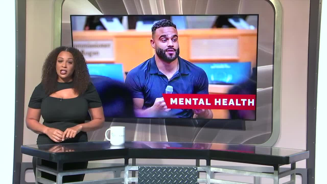 7@7AM Raider Talks Mental Health