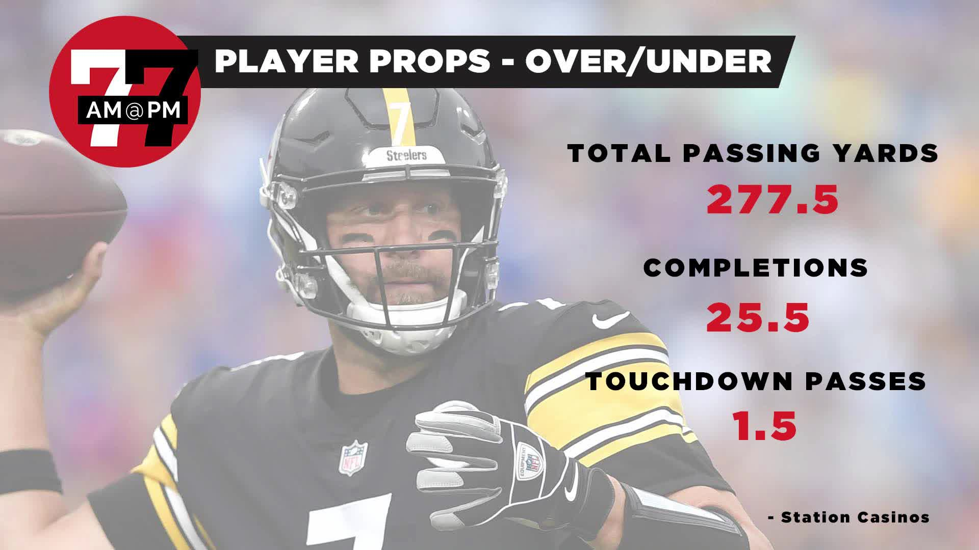 7@7PM Player Props for Raiders-Steelers