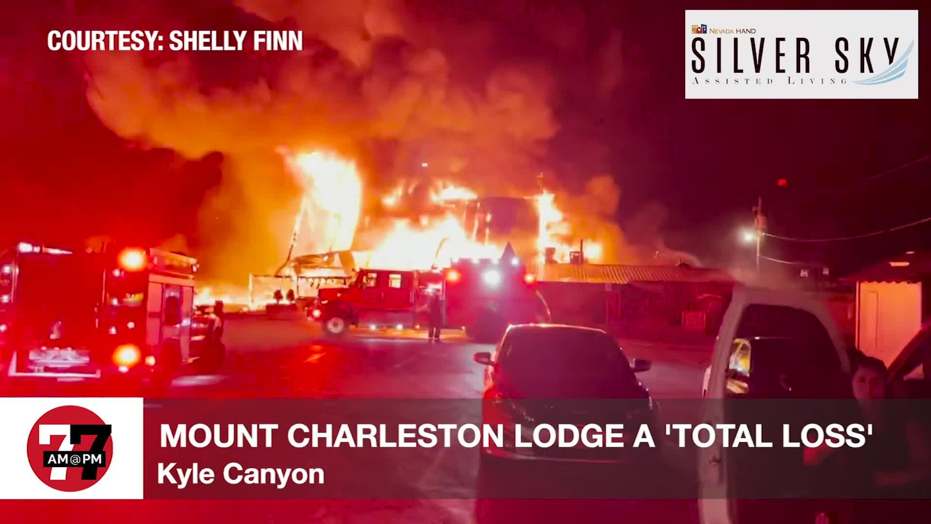 7@7PM Mount Charleston Lodge 'Total Loss'