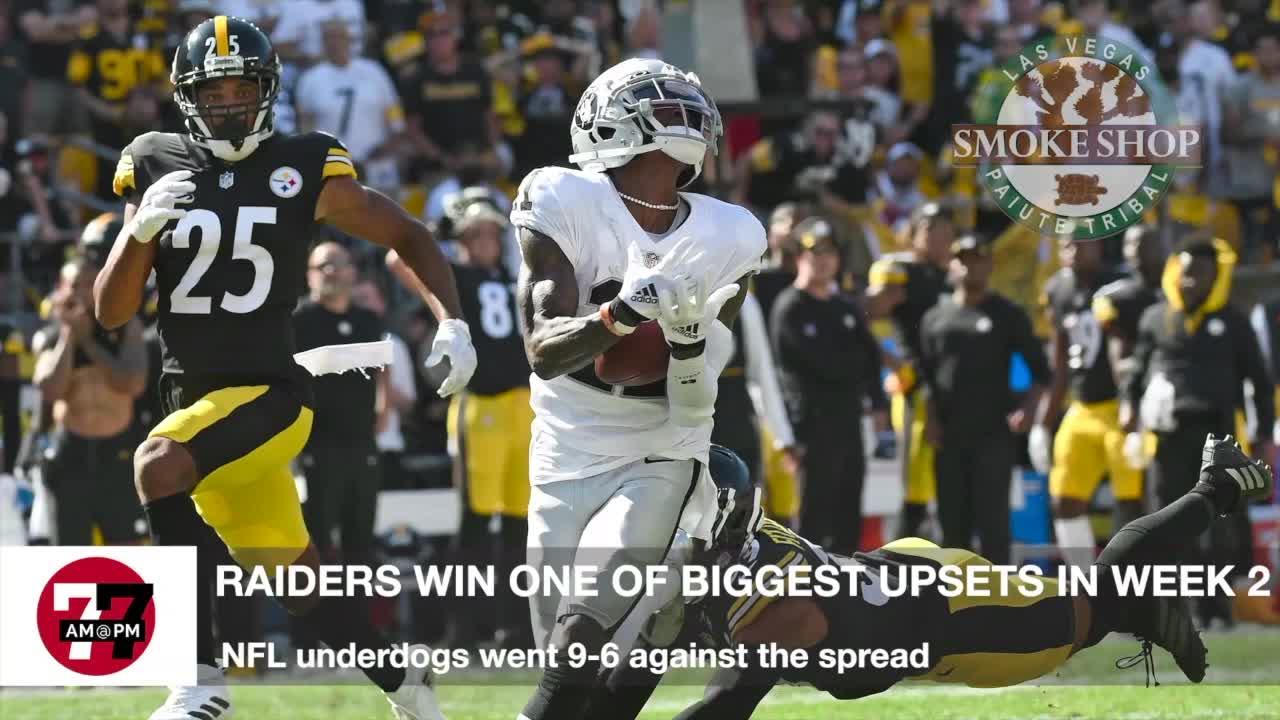 7@7AM Raiders Biggest Upsets In Week 2