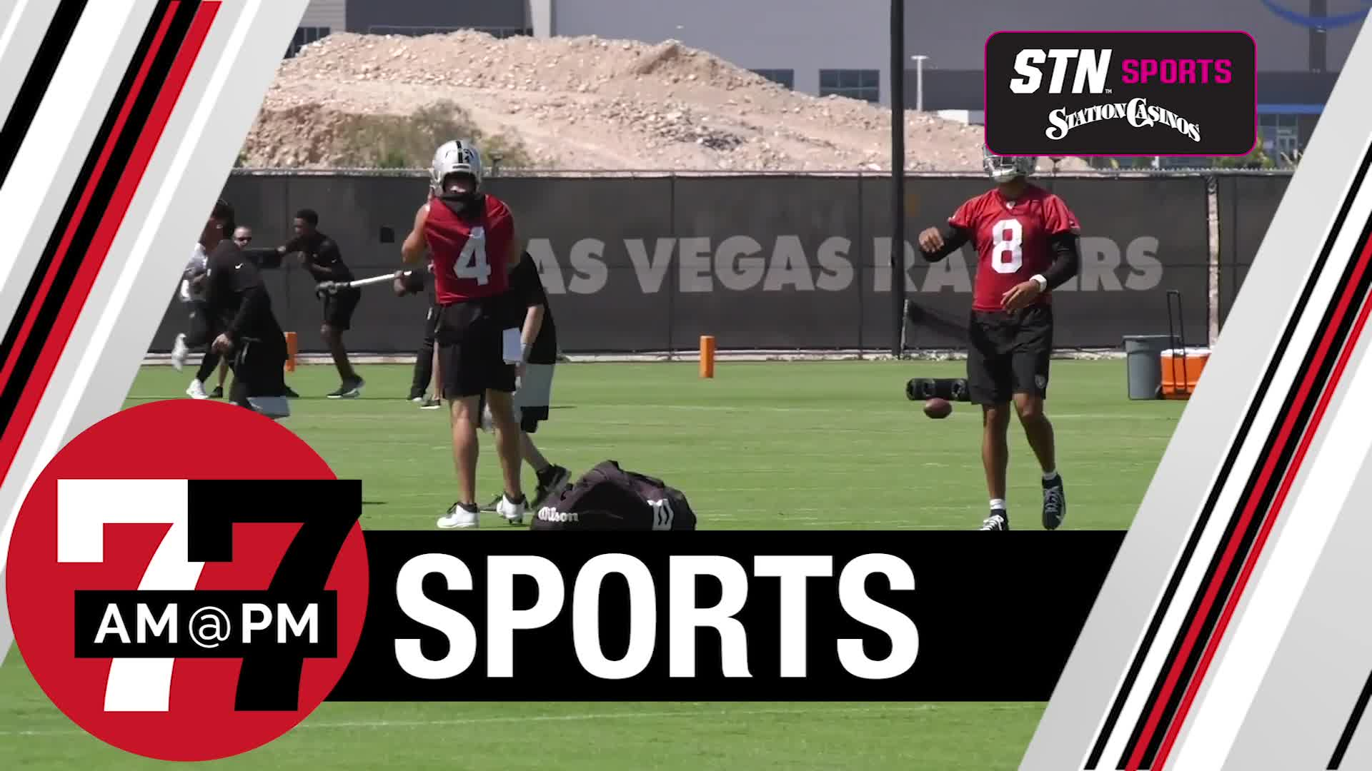 7@7PM Raiders Sign QB Sloter to Practice Squad