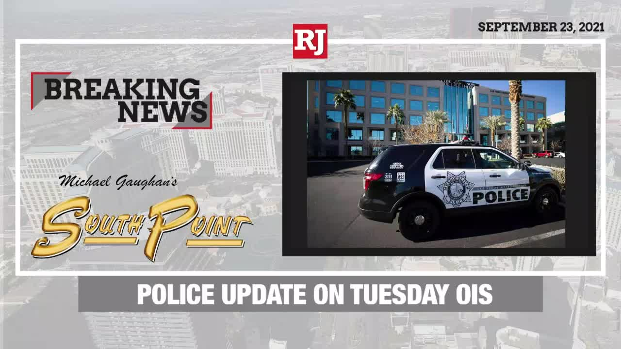 Police Update on Tuesday OIS