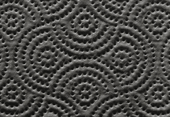 Texture of a paper towel