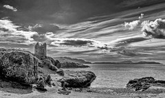 Gylen Castle on the southern tip of isle of Kerrera.