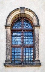 Prague Castle window.