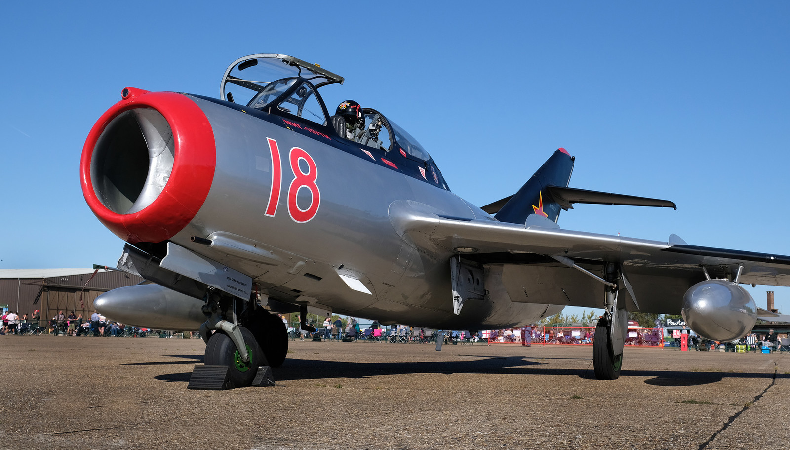 Mig 15 trainer. Built in Poland.