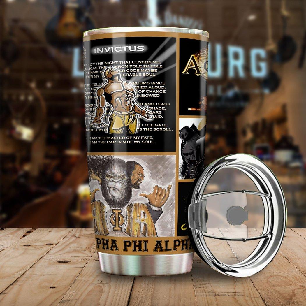 I Love My Alpha Phi Alpha Tumbler Mug All Over Print