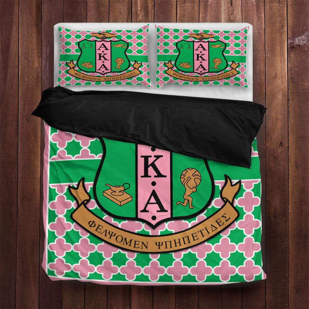 Alpha Kappa Alpha Bedding Set All Over Printed