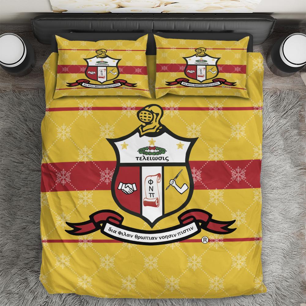 Kappa ALpha Psi Emblem Bedding Set All Over Printed