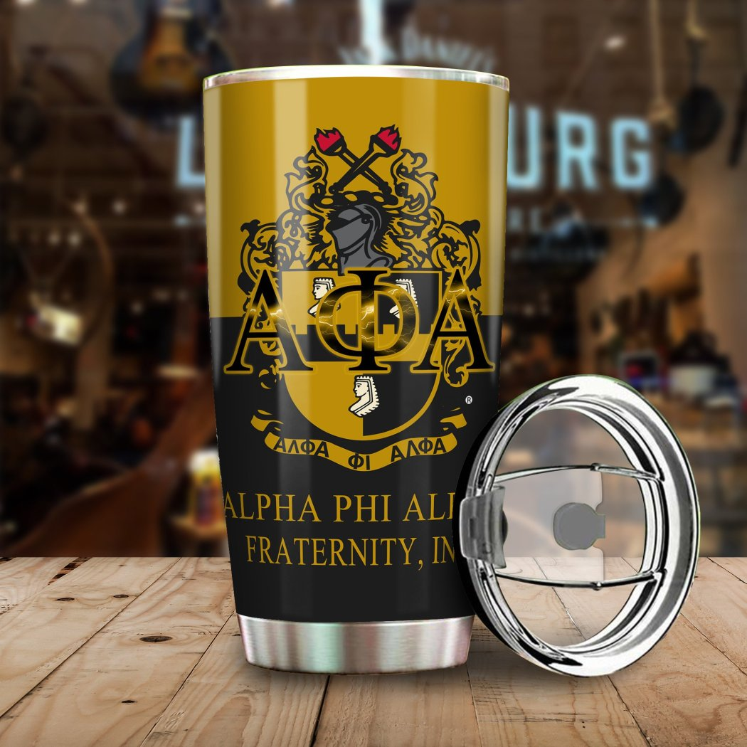 You Can Write Your Name With Alpha Phi Alpha Tumbler All