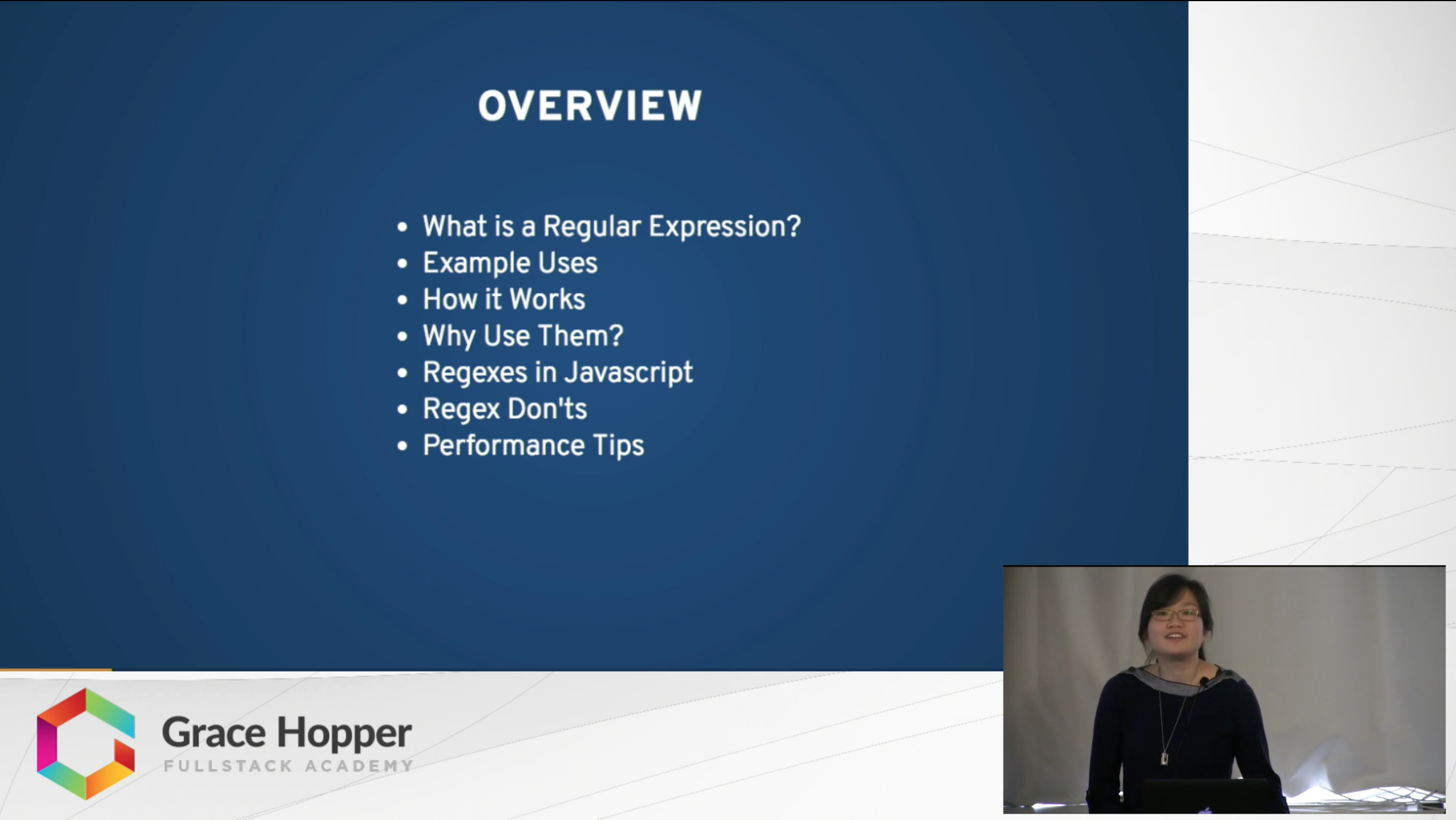 Regular Expressions in JS | The Grace Hopper Program