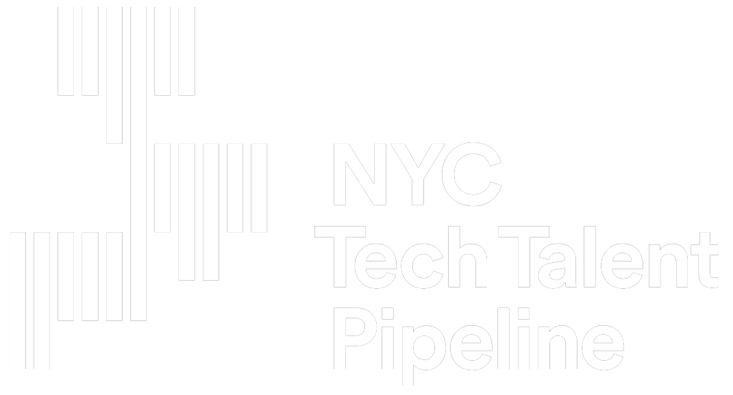 Tech Talent Pipeline logo white
