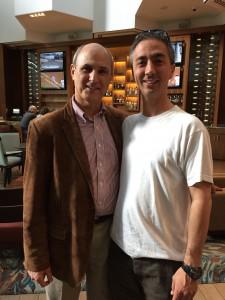 Jack and Aaron Linsdau in San Diego