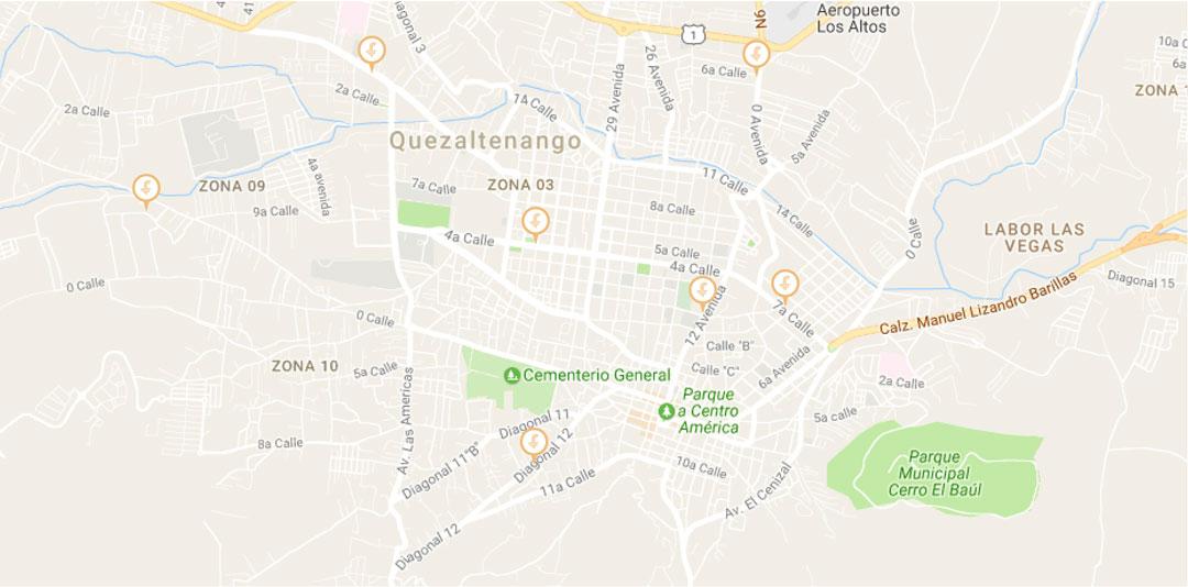 Mapa Oficinas Microcrédito