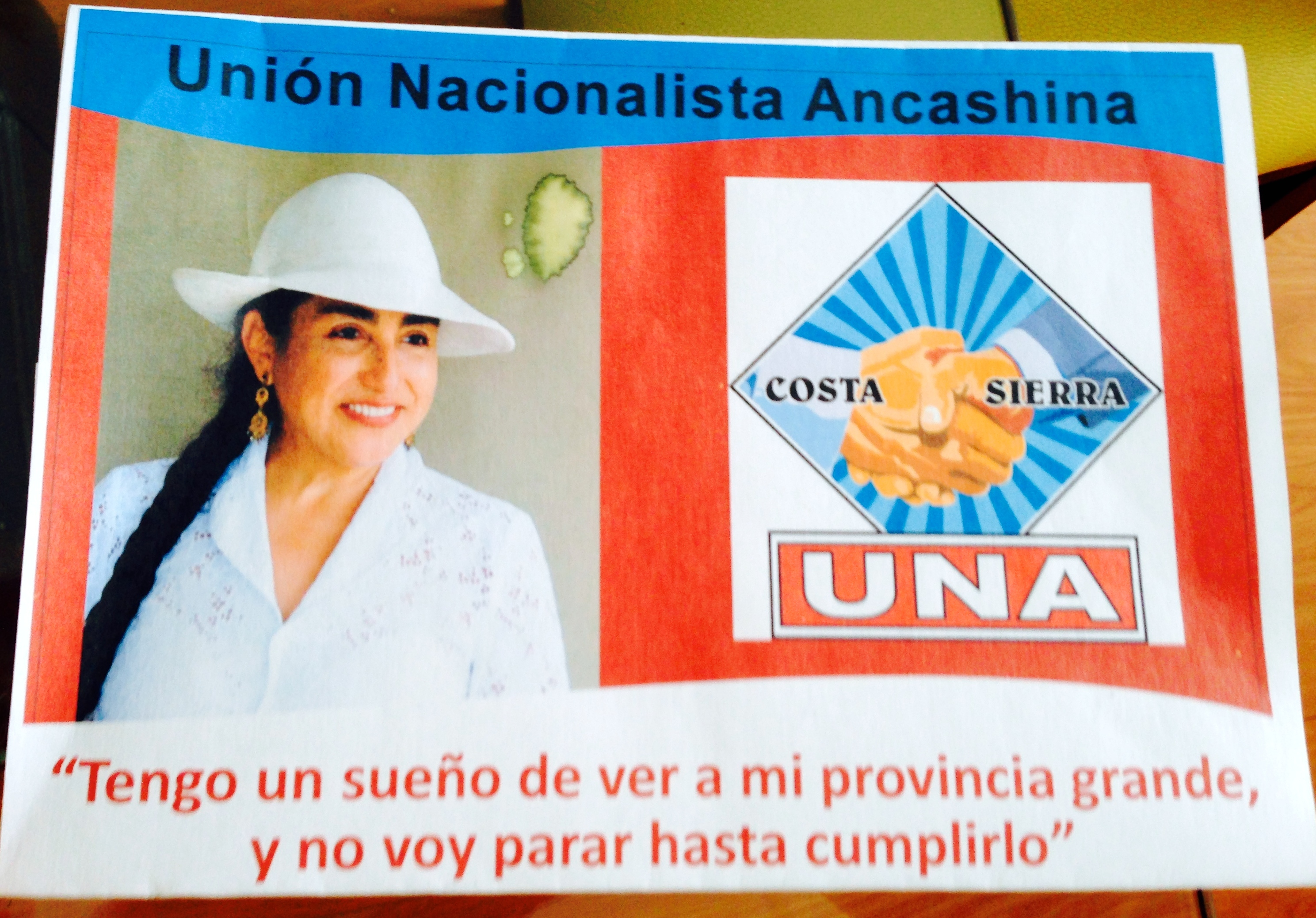 Thumbnail for Click here to support Nelida for Mayor of Llamellin! by Nelida Silva