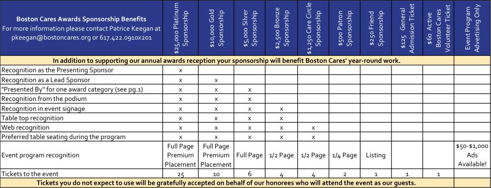BostonCares Grid