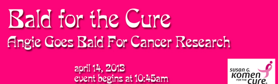 Bald for cure