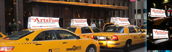 Taxi top mockup